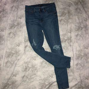 J-Crew Mercantile Distressed Skinny Jeans